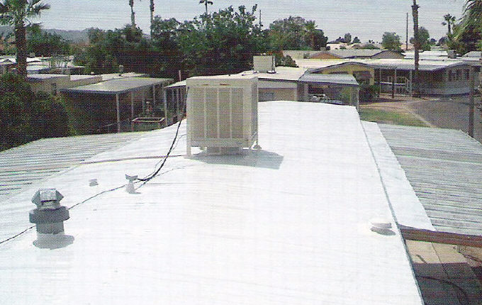 what purpose does a mobile home roof overlay serve - Mobile Home Roof Coating